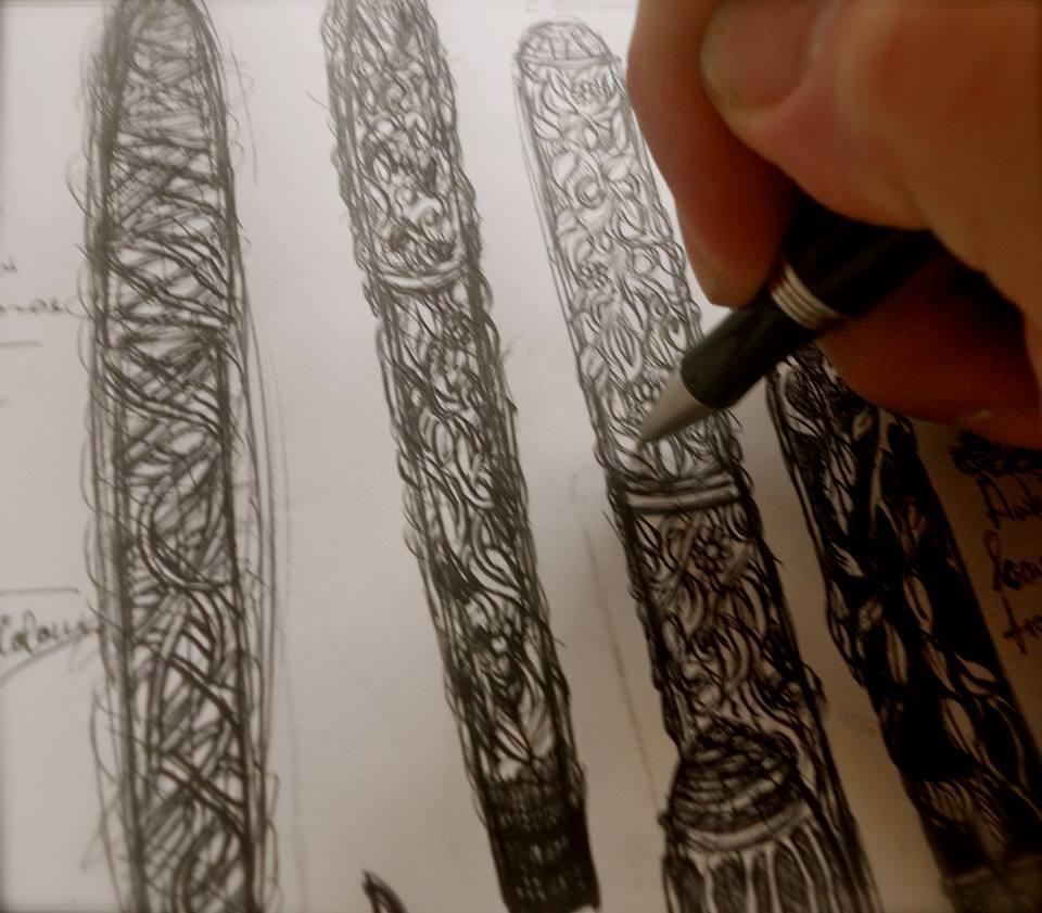 Working on pen ideas
