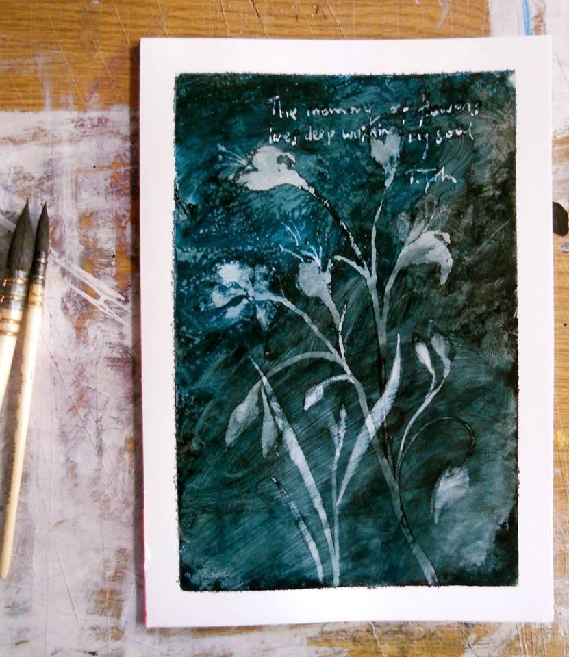 Blue Flower Memory
