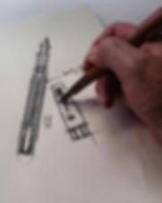 Pen design Montegrappa