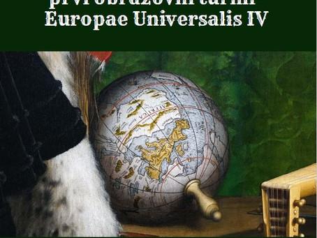 Raspis za učešće na prvom obrazovnom turniru Europae Universalis IV