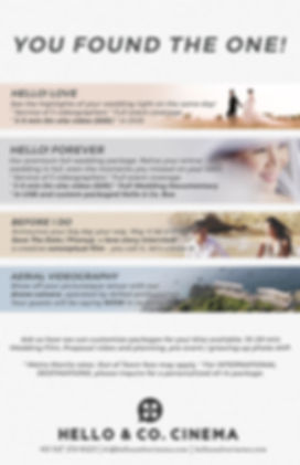 Manila wedding videographer rates and packages - Hello & Co. Cinema #untemplated