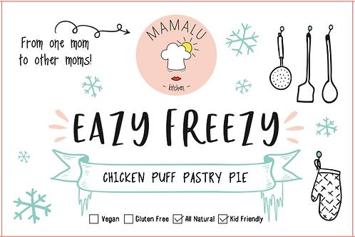 Chicken Puff Pastry Pie