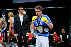 Ollie Mathis with another belt