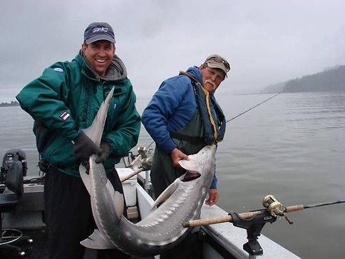 Ron & Bryan Holt releasing a nice Sturge
