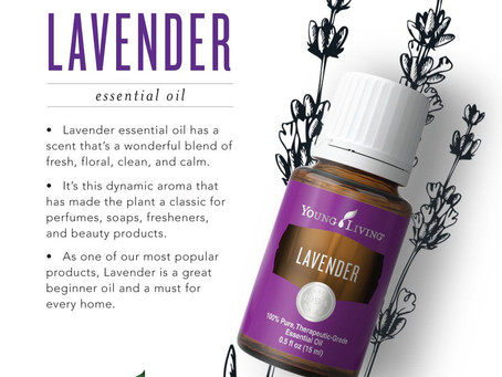 Oils with Calming Effects: Lavender
