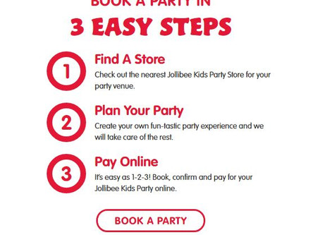 Tips on Having a Jolly Party with your Toddler at Jollibee