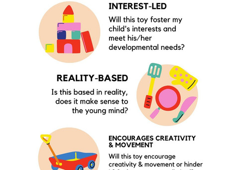 A Montessori Toy Guide: Tips for Toy Selection