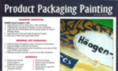 Product Packaging Painting by Gary Kohl