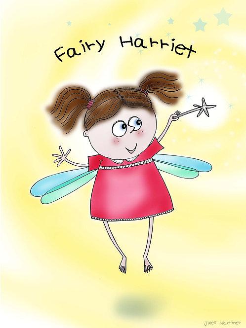 Customisable fairy print