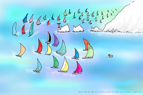 Round the Island Yacht Race