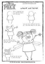 Fairy free printable worksheet