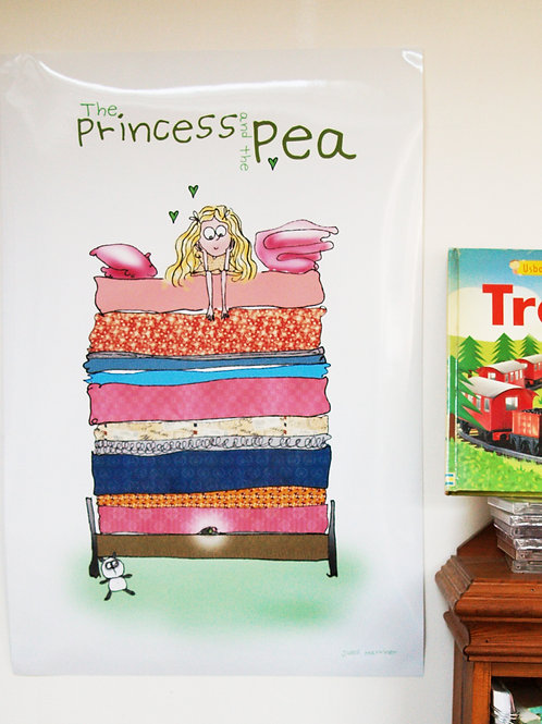 Princess and the Pea POSTER