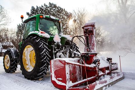 Driveway Snowblowing in West Seneca N.Y.