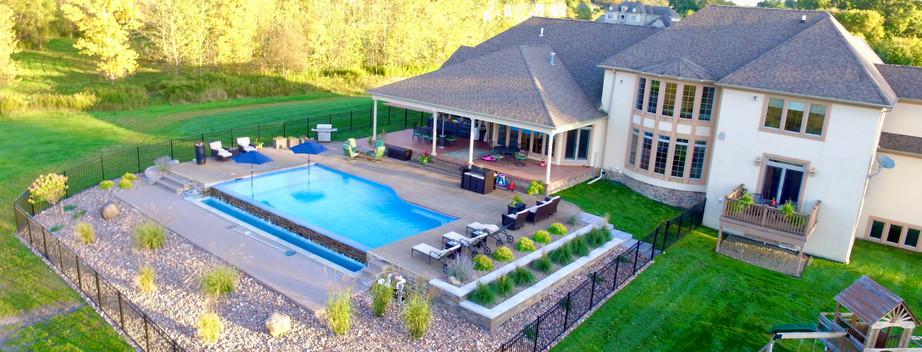 Pool Yard Landscape