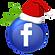 Christmas Bulb Facebook