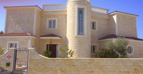 Construction of villa in Cyprus Paphos