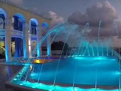 Dansing fountains Cyprus