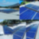 Solar panel cleaning at townsvlle daycare center