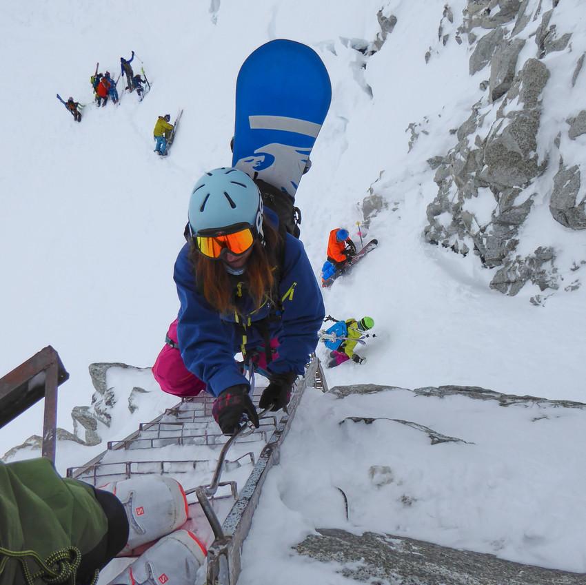 Last steps to the glacier