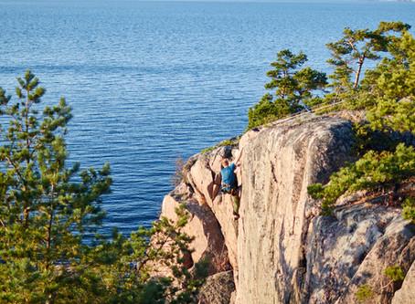 Climbing Kyrkskär