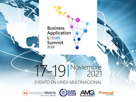 Somos sponsor de la Primera Edición del Business Application Latam Summit
