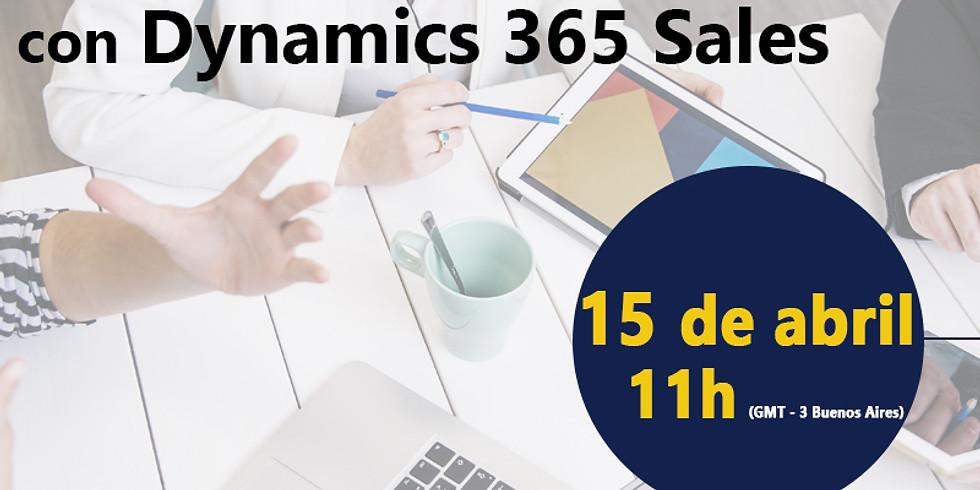 Webinar Impulsa la Gestión de tus Ventas con Dynamics 365 Sales