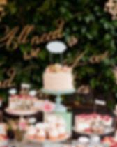 結婚式のデザート