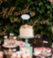 Postres de boda