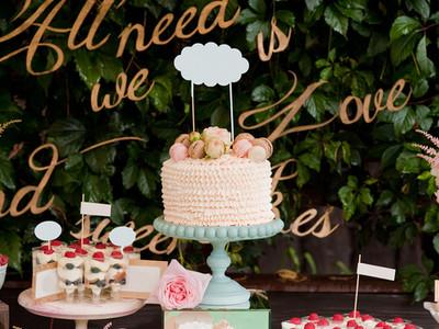 Wedding Desserts Tabel