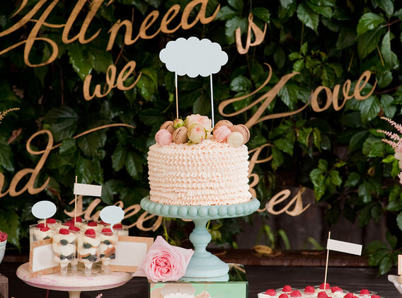 All you need is love and desserts