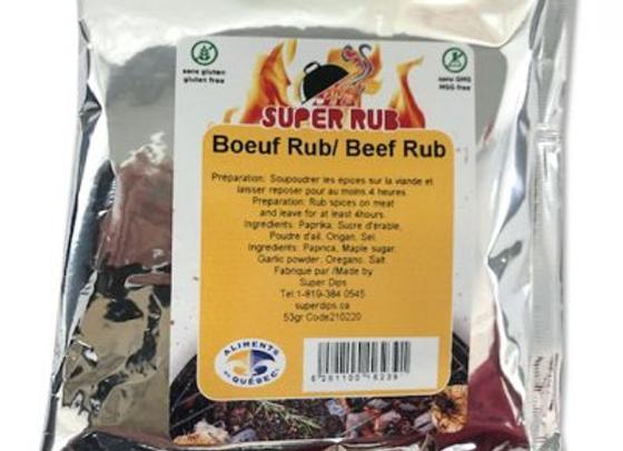 RUB Boeuf - Contient du sel