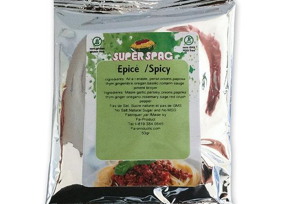 Épices à spaghetti - Épicé