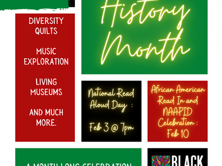 Black History Month Celebrations Ahead!