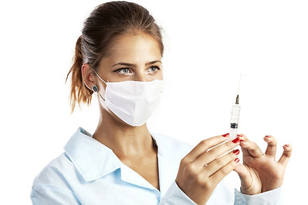 doctor-or-nurse-in-face-mask-and-lab-coa