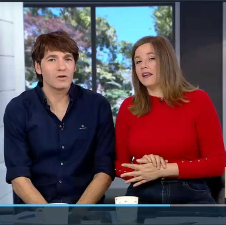 Interview with Paula and Leon on the Morning Show