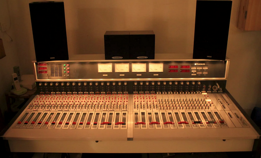 Studer 189 console, a nice lady! From trash to L.A studio: complete rebuild - repair
