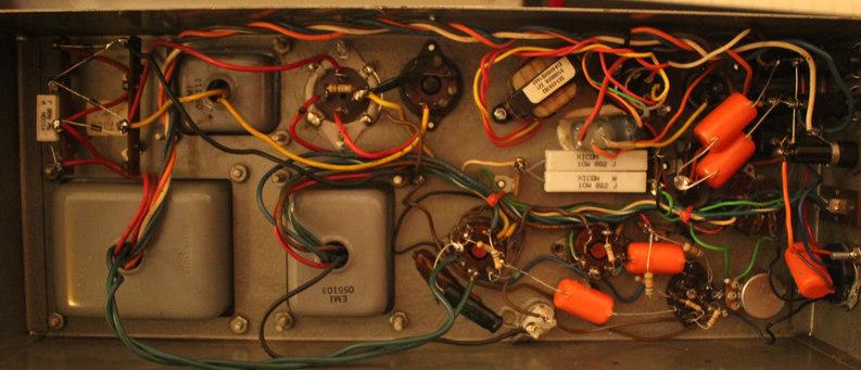 Leslie 147 amp repair
