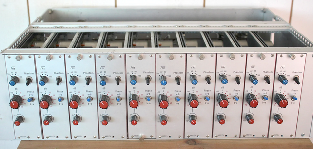 Rare TBG preamps! (Checking, cleaning, calib)