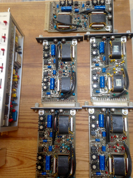 089 line amps (checking, cleaning, recap, calib)
