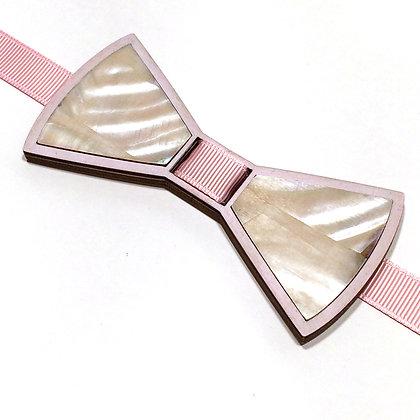 Бабочка детская перламутровая розовая