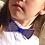 Thumbnail: Бабочка детская Полоски. Желтая