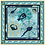 Thumbnail: Платок Балет. Шелк 100%. 65*65 см