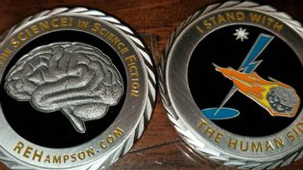 REHampson - The Human Side Challenge Coin