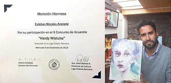 diploma mencion de honor concurso II Ins