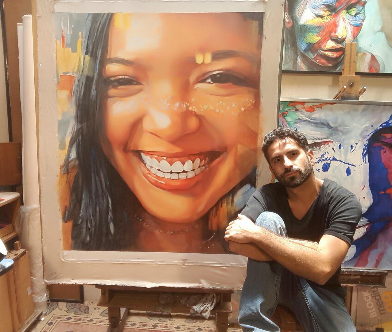 Retrato de Gabriela