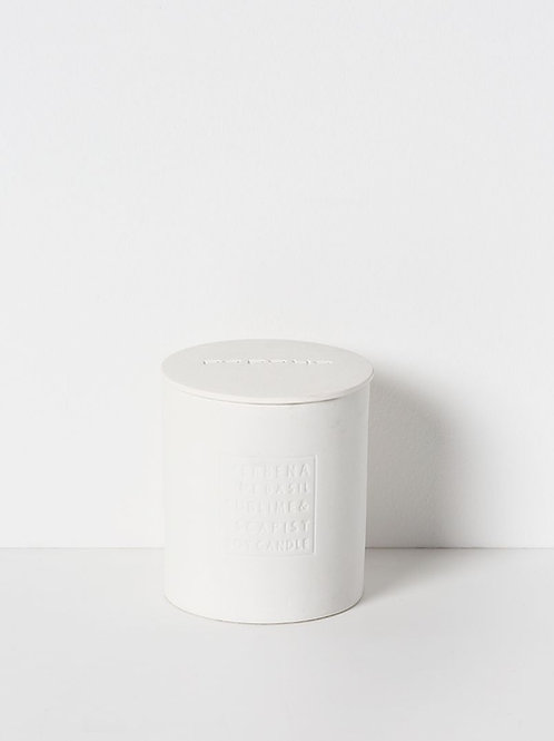 Sno Ceramic Soy Candle