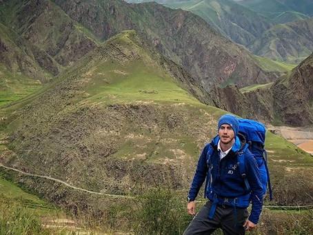 웨일즈 출신 모험가 '애쉬 다이크스', 6,000㎞ 양쯔강 트레킹 완주