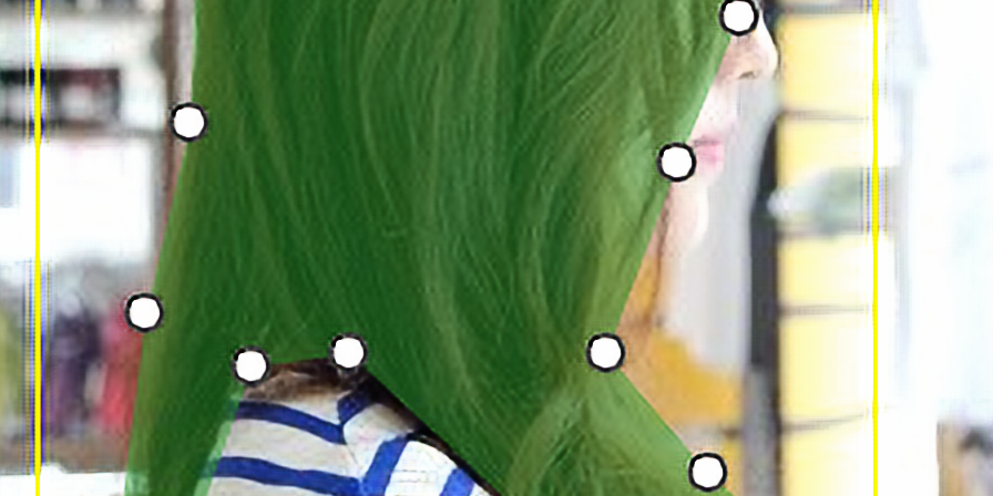 헤어스타일 이미지 어노테이션 . 10.1~12.31