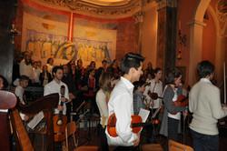 Concerto Natale, Cureglia 2015