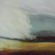 Looking West. acrylic on canvas 80x80cms